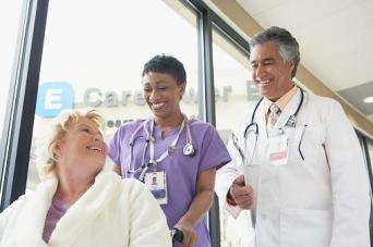 Healthcare professionals and patient